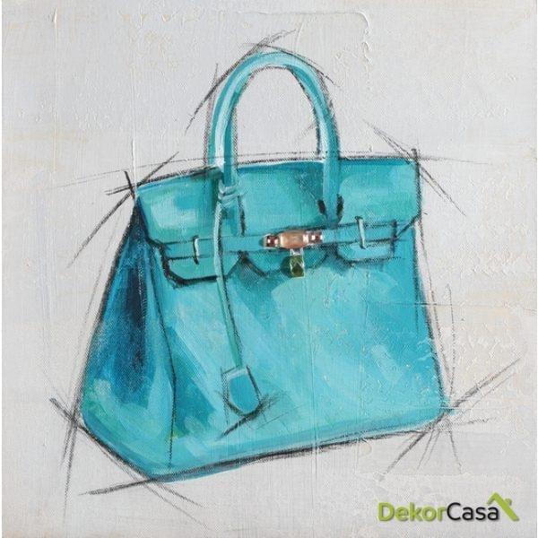 Lienzo Bolso Azul