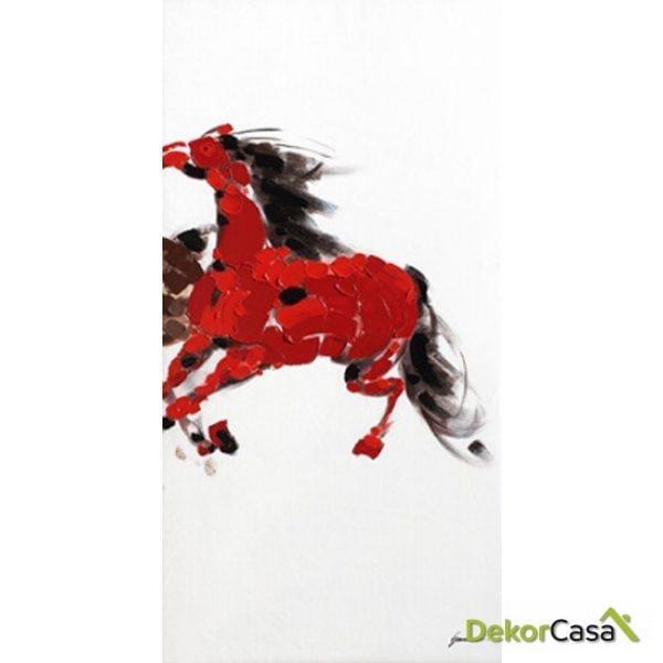 Lienzo Caballo Rojo