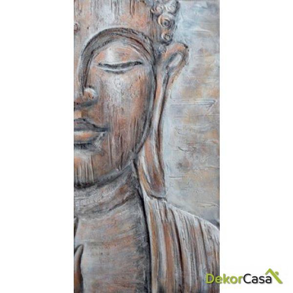 Lienzo Cara Budha Derecha