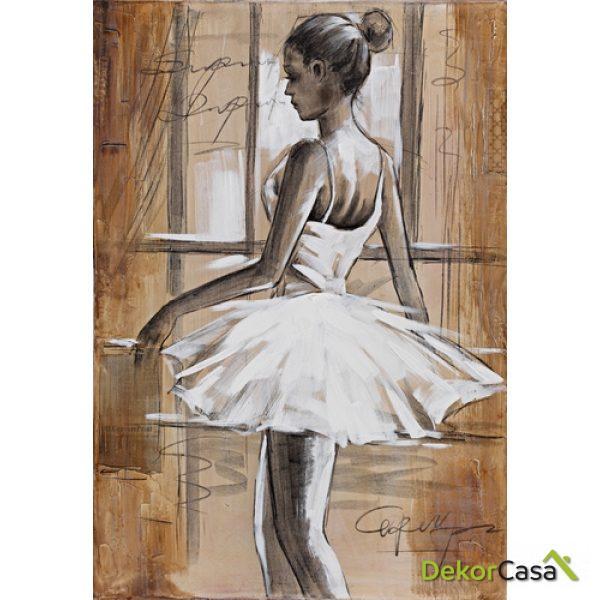 Lienzo Chica Ballet