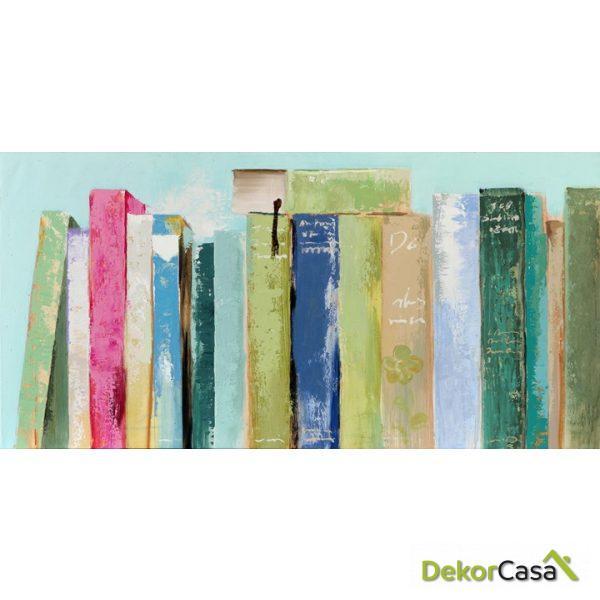 Lienzo Estante de Libros