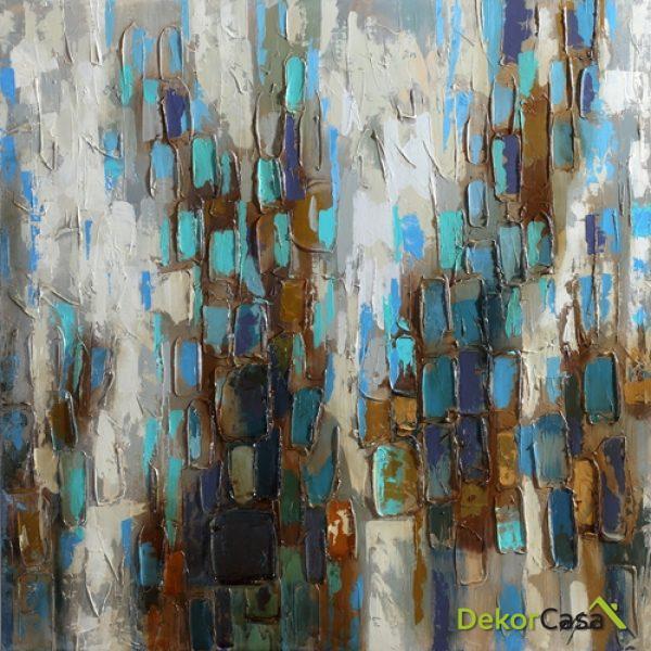 Lienzo Gotas de Lluvia