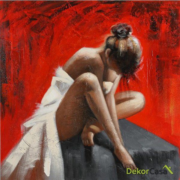 Lienzo Mujer Desnuda
