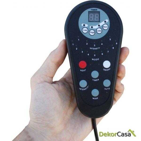 mando sillon de masaje eco deadl 8