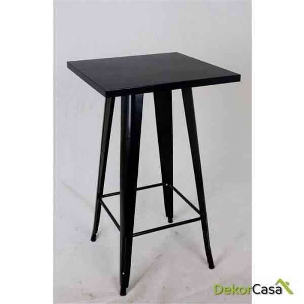 mesa alta tolix negra 1 1 1 1