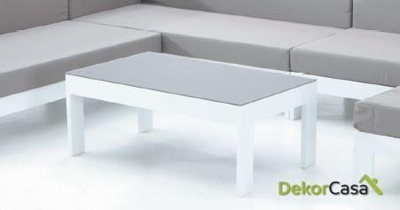 Mesa café para sofás modulares Laos 100 x 60 x 40 cm