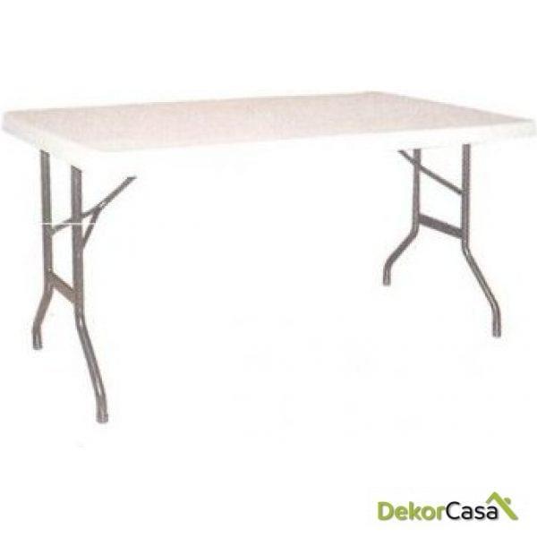 Mesa Catering Metal Tablero Plegable