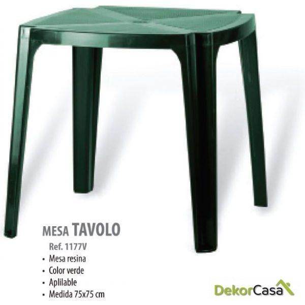 Mesa catering Tavolo 75 x 75 cm