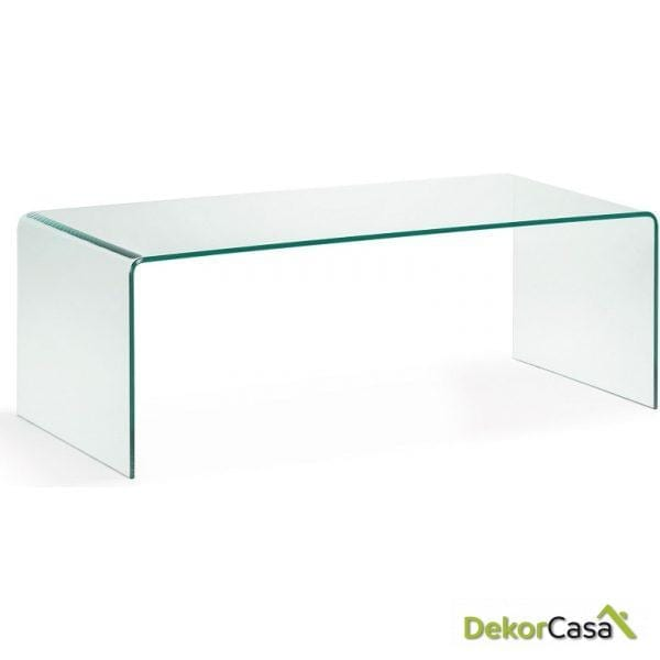 MESA CENTRO BURANO Cristal Transparent