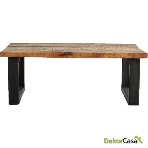 mesa de centro lotus 120x70x45 cm
