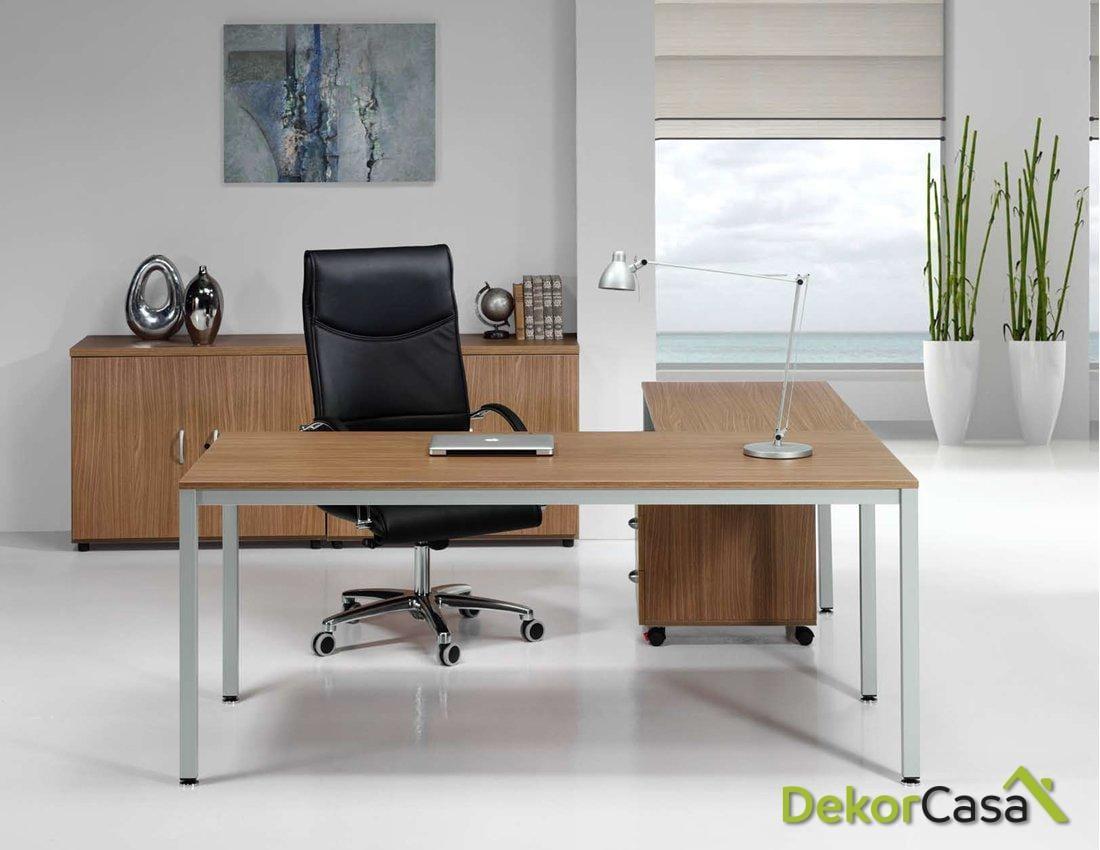 Mesa de despacho rectangular Euro 5100