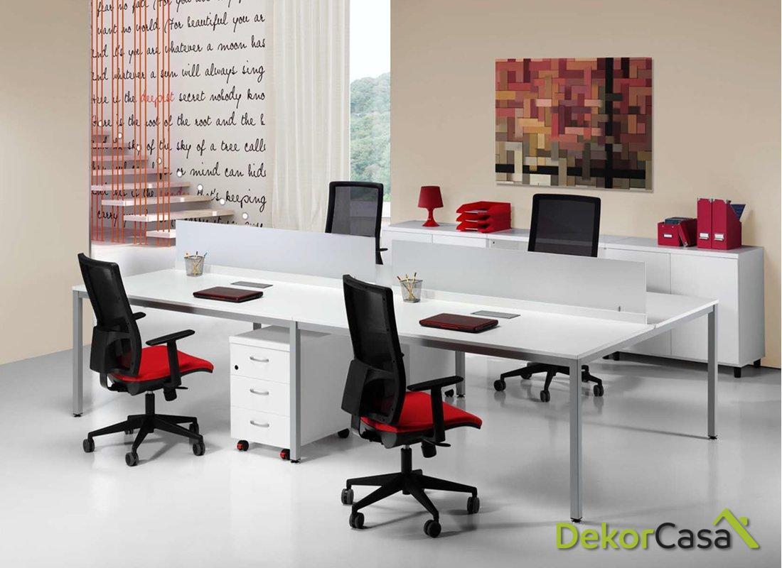 Mesa de oficina Euro 5100 Bench Dobles