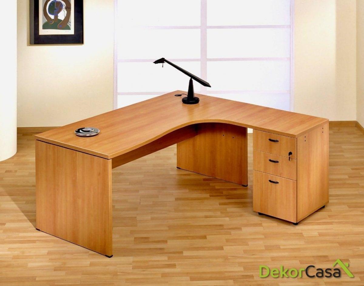Mesa de oficina punto informático derecha Euro 2000