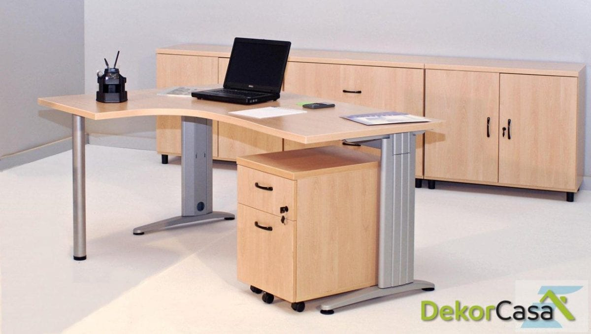 Mesa de oficina punto informático izquierda Euro 4000
