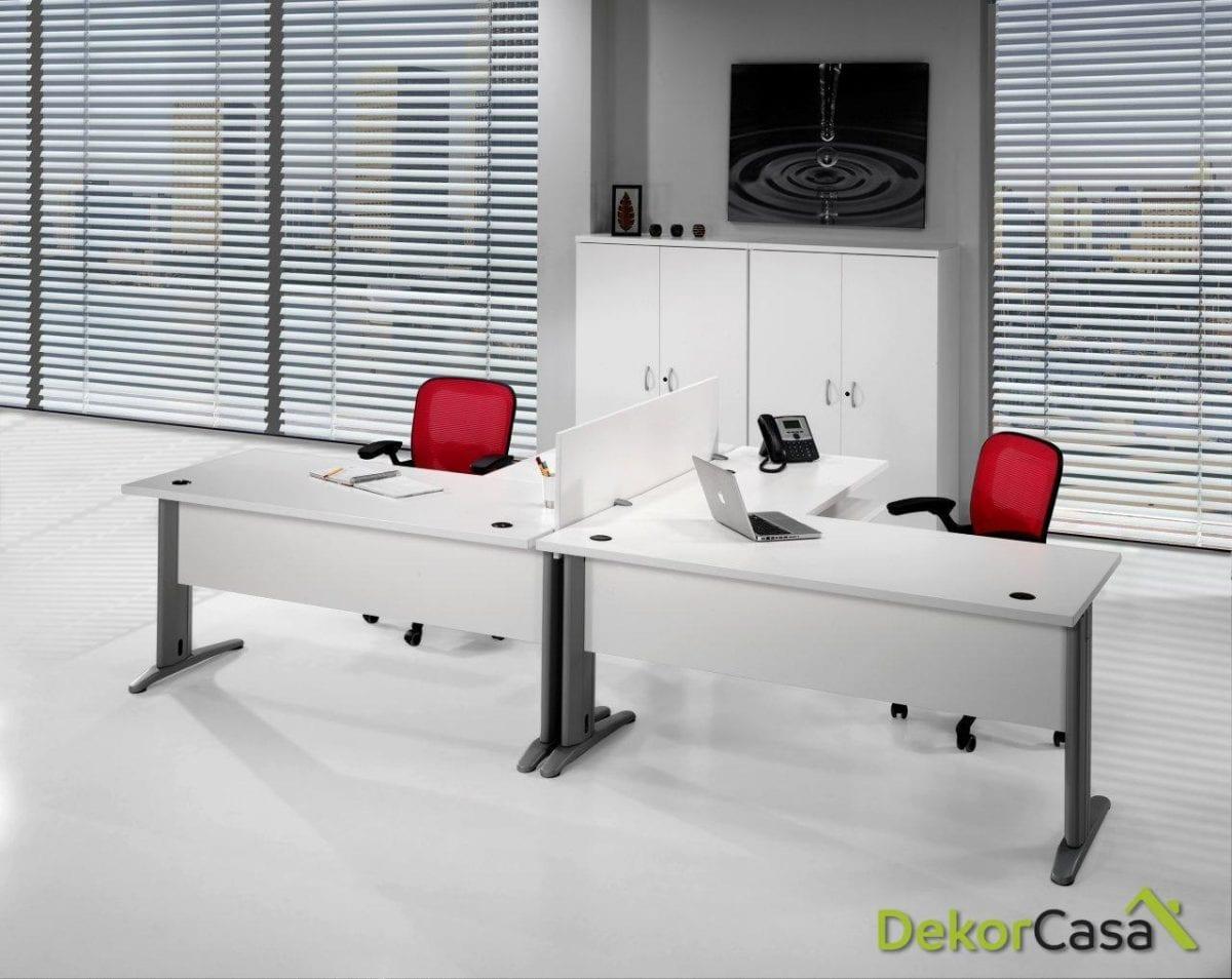 Mesa de oficina rectangular Euro 3000