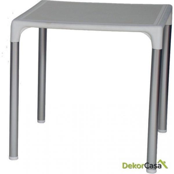 Mesa ELIANA, aluminio, polipropileno