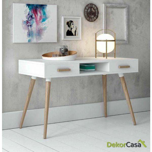 Mesa escritorio blanco Nordico DK-900