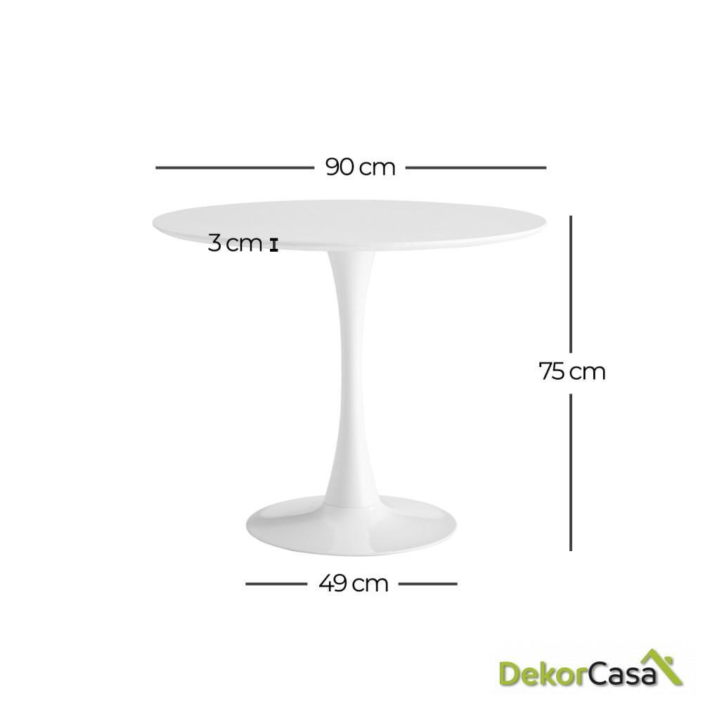 mesa oficina blanca