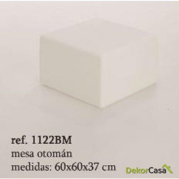 MESA OTOMAN formentera 60X60X37CM   112BM