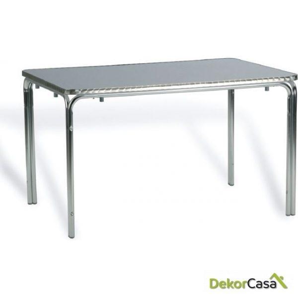Mesa recta apilable