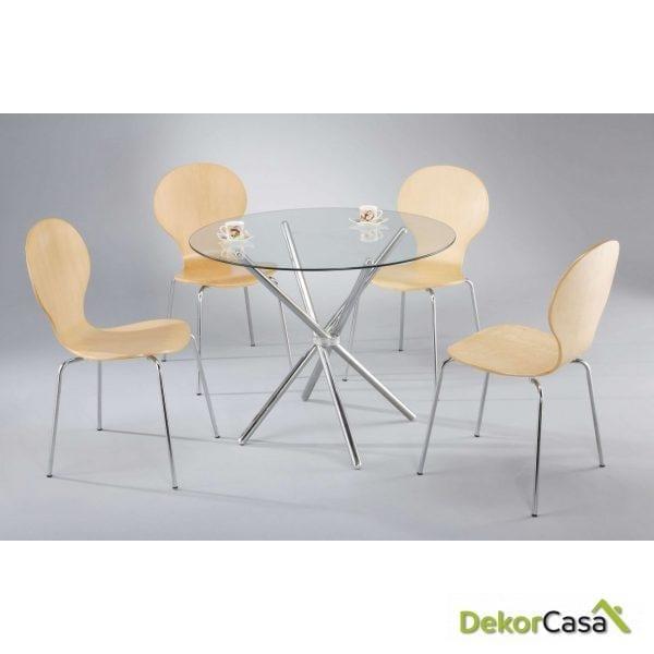 mesa tog 80 cristal 80 cms de diametro 1