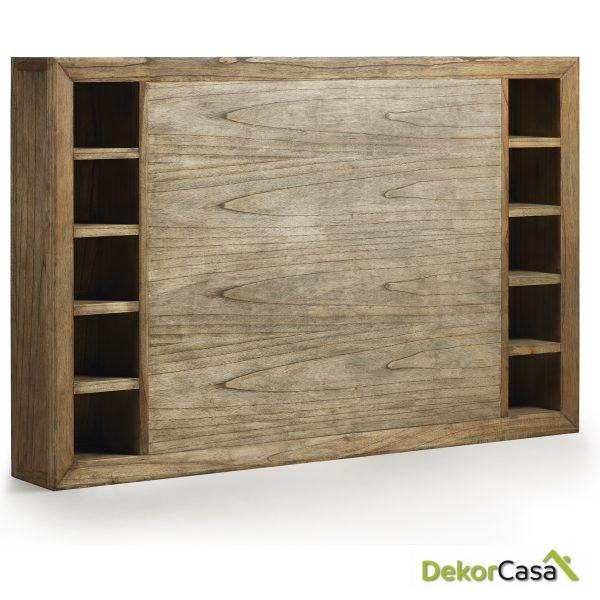 Mueble auxiliar Merapi 180 x 25 x 115 cm
