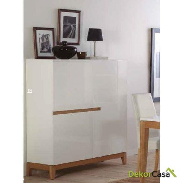 Mueble auxiliar Sandra 120 x 45 x 140 cm