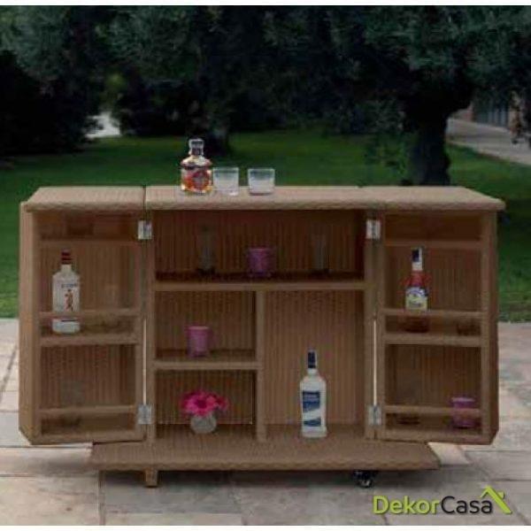 Mueble bar Calvia 112 x 104 x 71 cm