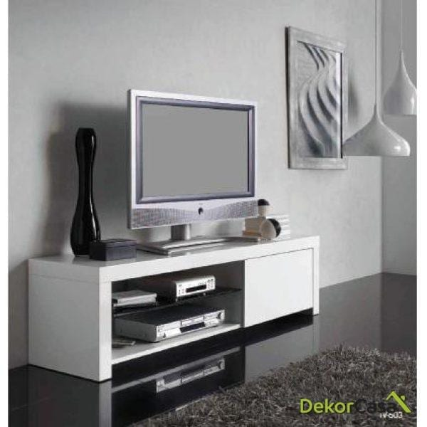 Mueble de TV Blanco de diseño 603