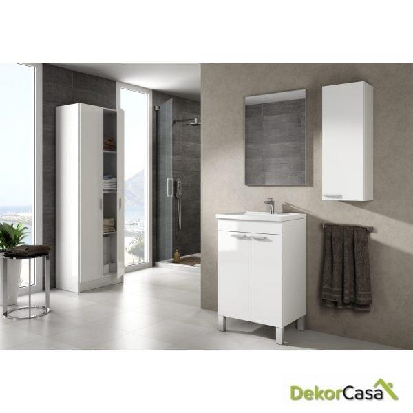Mueble lavabo Koncept, + espejo + LAVABO 305913O
