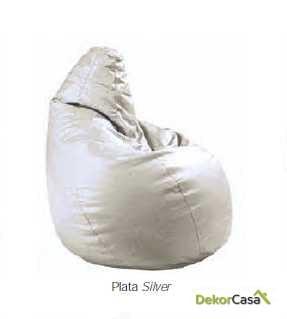 puff pera plata