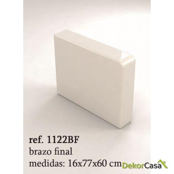 REPOSABRAZOS FORMENTERA 16X77X60CM   1122BF