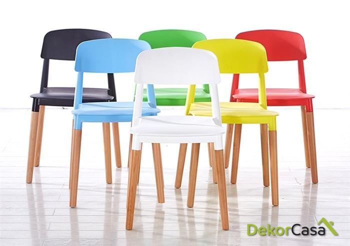 silla cros apilable madera polipropileno blanco 2 1