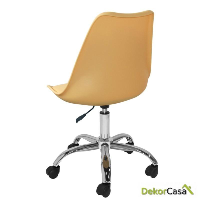 silla megan escritorio beige 1