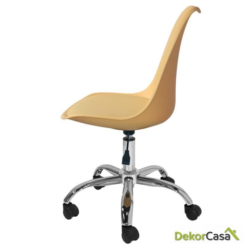 silla megan escritorio beige 2