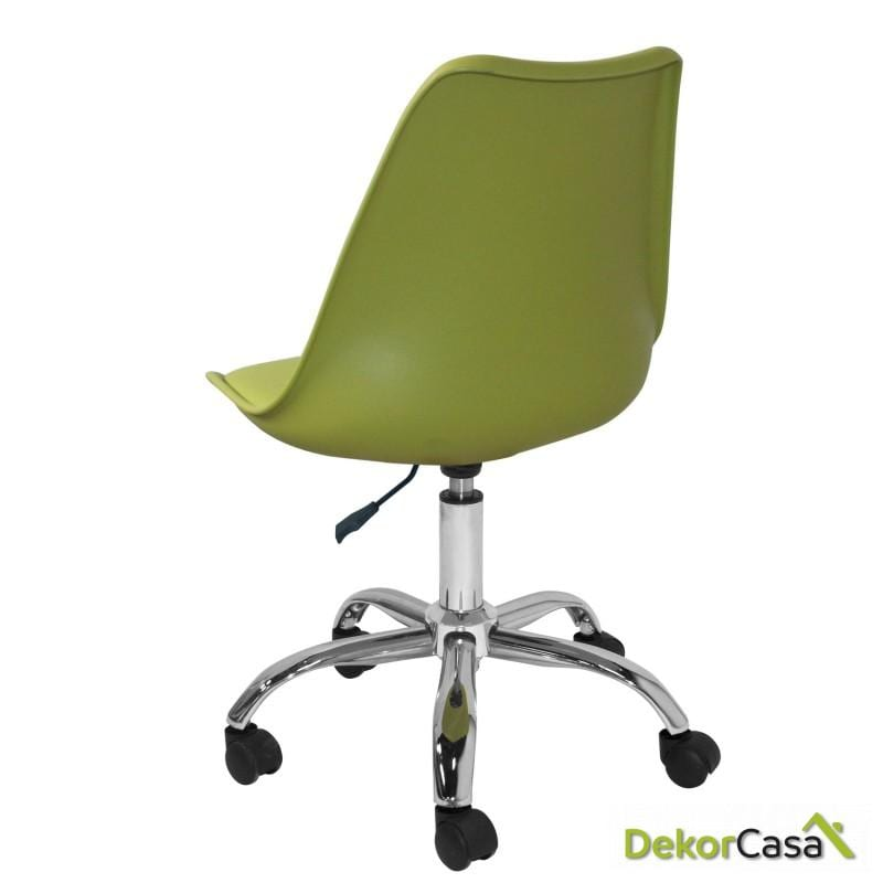 silla megan escritorio verde 1