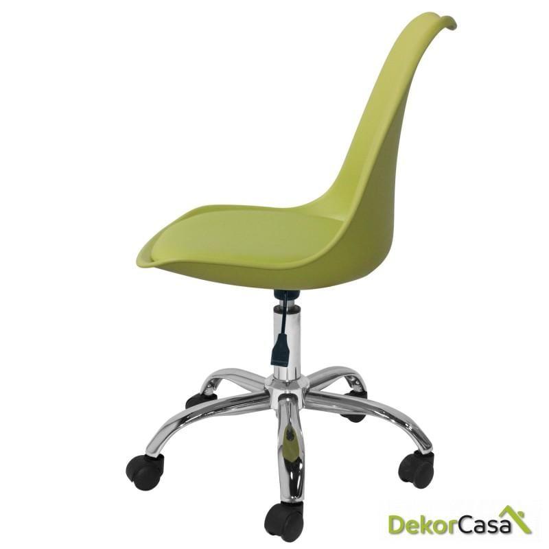 silla megan escritorio verde 2