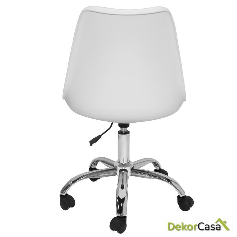 silla megan office blanco 5