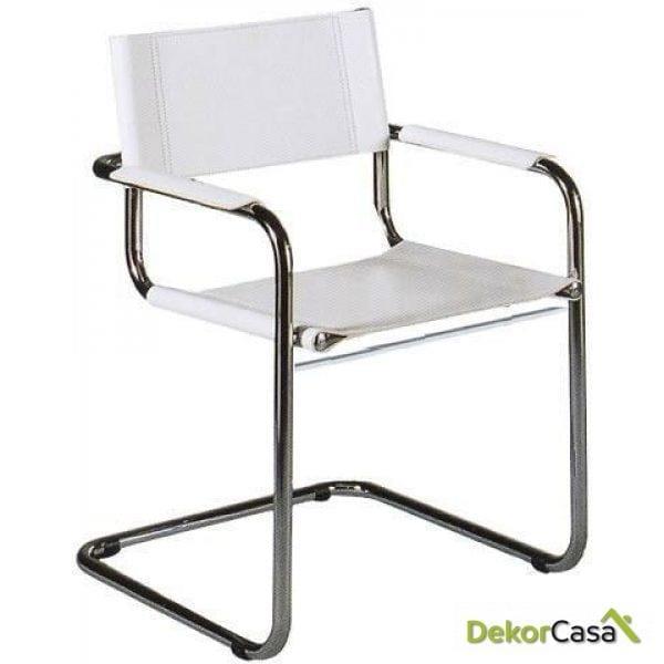 silla confidente babel blanco