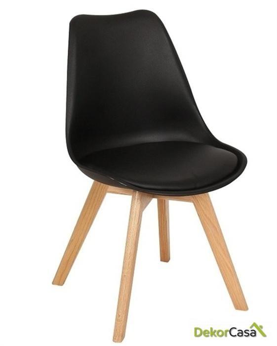 silla nordica tor negra 1