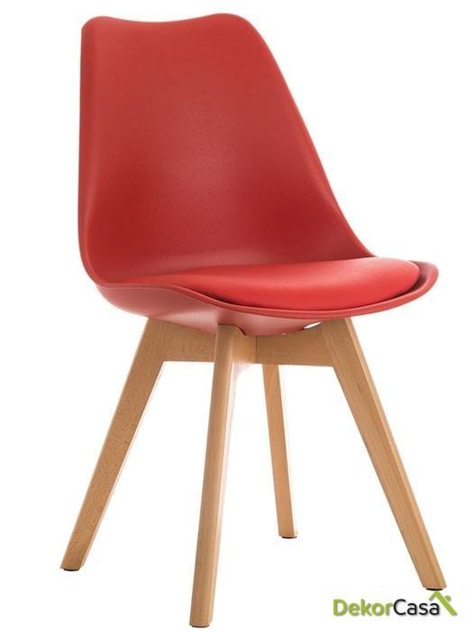 silla nordica tor roja 1