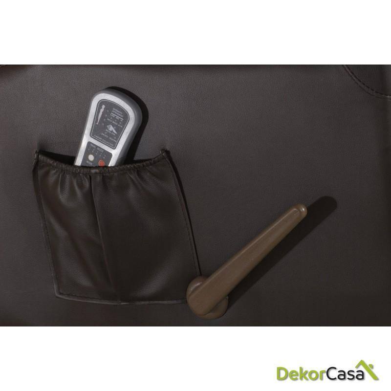 sillon de masaje balancin eco 8615n negro piel 2