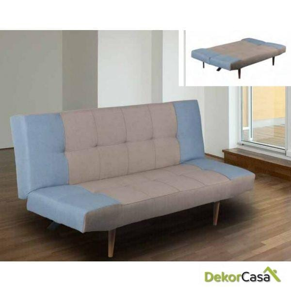 Sofá cama con sistema clic clac  SUMA