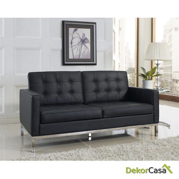 Sofa de Diseño Tapizado Floren 2 Plazas