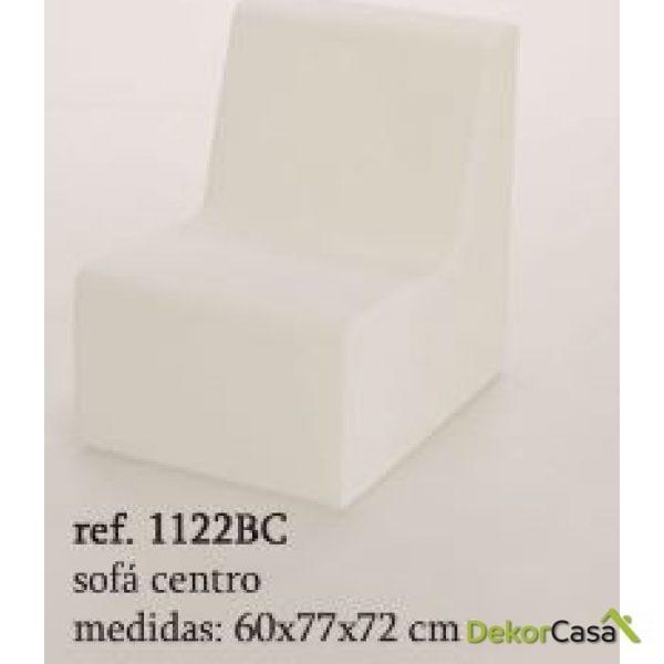 sofa formentera 1 plaza iluminable 1122BC