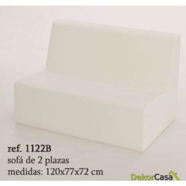 sofa formentera 2 plazos iluminable 1122B