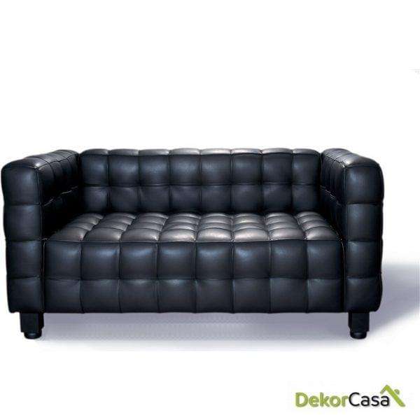 Sofa Tapizado Kubus 2P