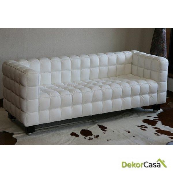 Sofa Tapizado Kubus 3P