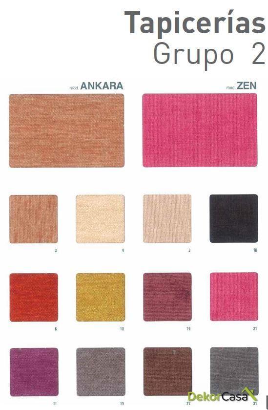 tapiceria grupo 2 ankara y zen 2 1 1 1 1 2