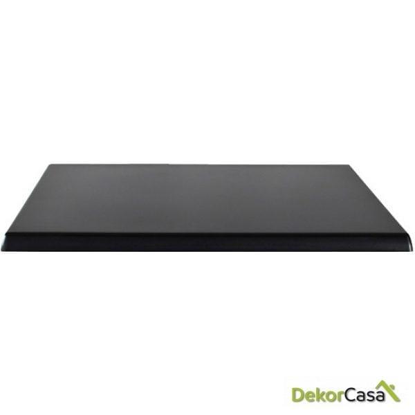 werzalit negro 60x60 cm